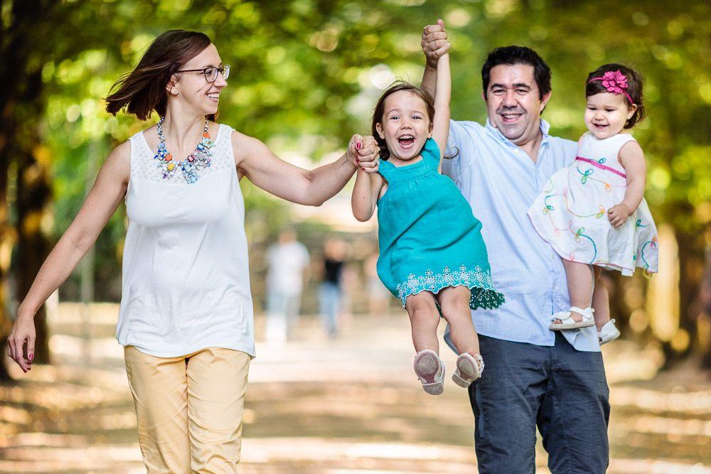 Sessão fotográfica de família no Jardim Botânico em Coimbra - o que vestir