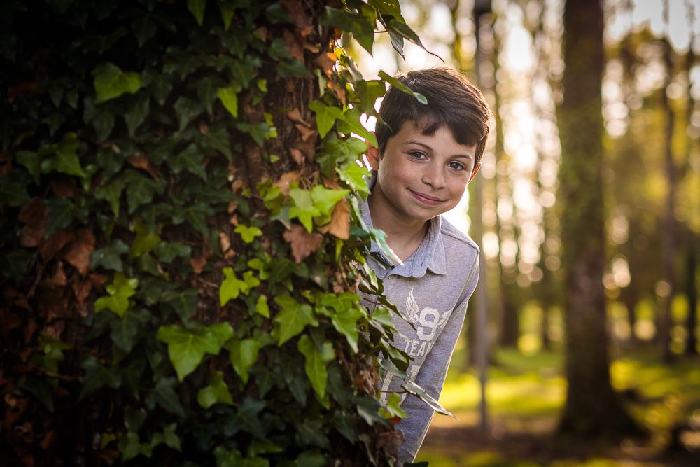Sessões de fotografia infantil em condeixa parque verde