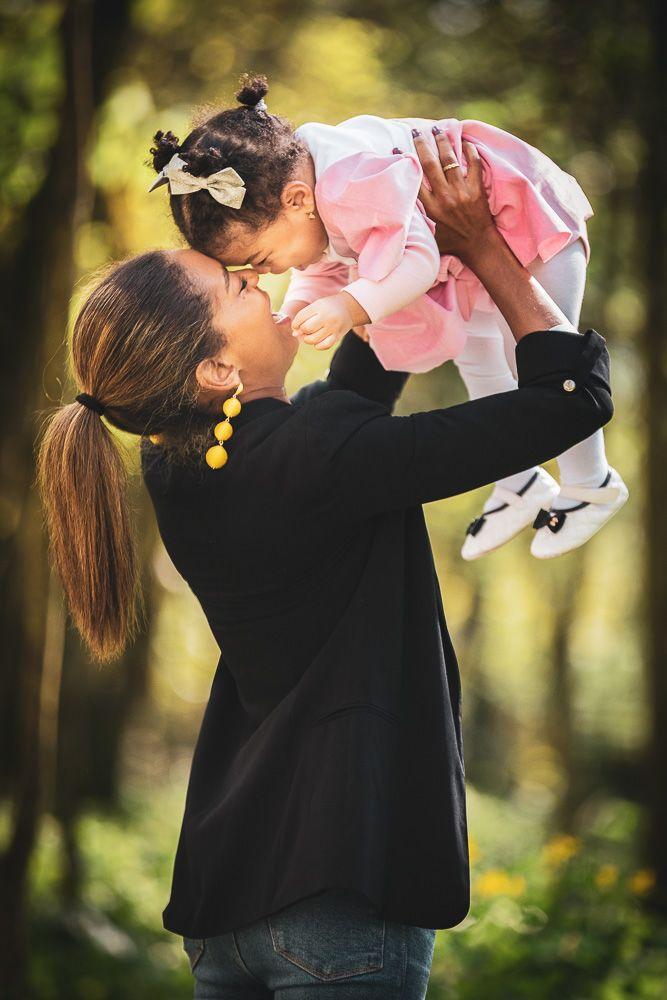 Sessão fotográfica infantil com bebé